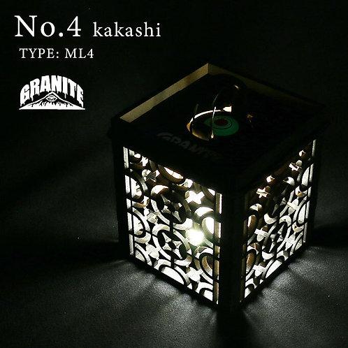 GRANITE No.4 kakashi TYPE: LEDLENSER ML4