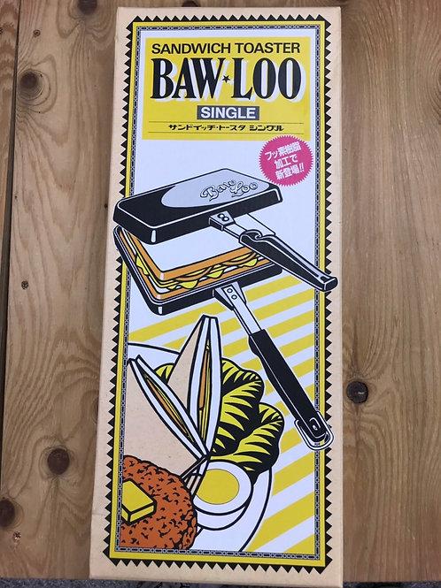 BAW-LOO サンドウィッチトースターシングルタイプ