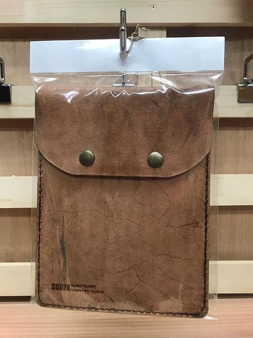 BONFA鉄板グリルレザーケースライトブラウン