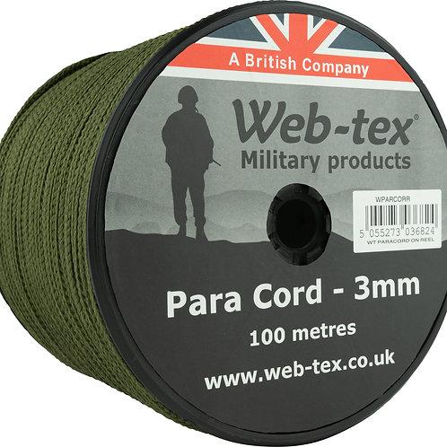 Web-tex   パラコード グリーン