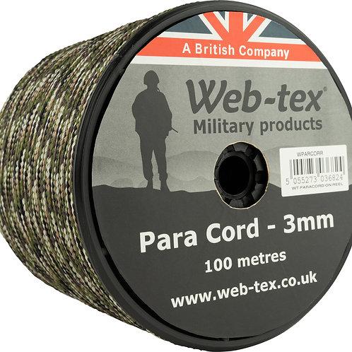 Web-tex パラコード カモ