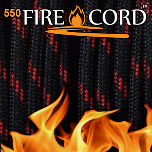 Live Fire Gear 550 Fire Cord シンレッドライン