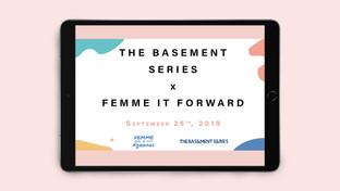 The Basment x Femme It Forward