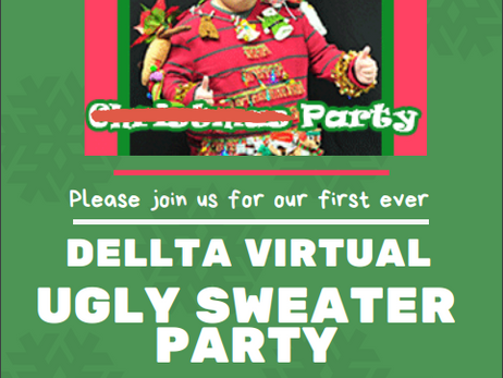 Mark Your Calendar - CORRECTION 12.18 for DELLTA's 1st Ugly Sweater Gathering - More Info. Coming :)