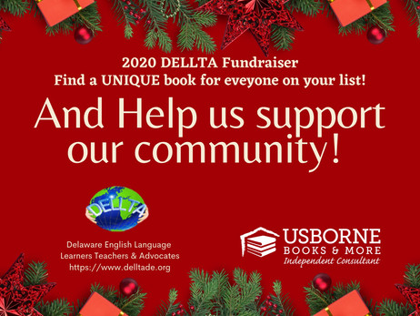 DELLTA Usborne Book Fundraiser - Please support us!!! Thank you:):)