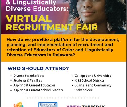 Educators of Color & Linguistically Diverse Educators