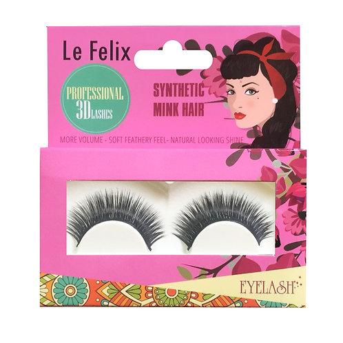 Le Felix 3D Eyelash No. Me | เลอ ฟีลิกซ์ ขนตาปลอม 3 มิติ รุ่น มี