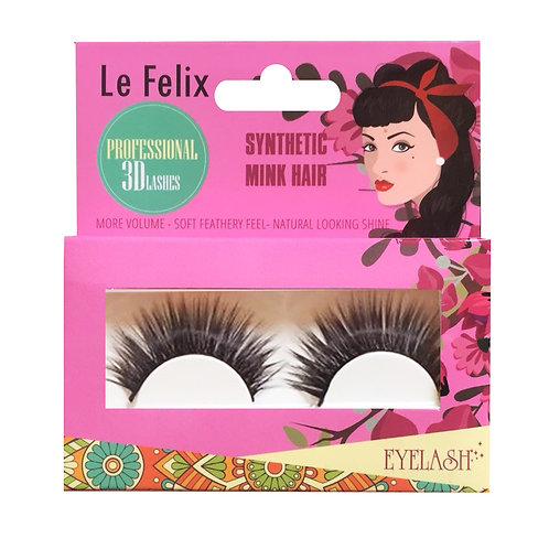 Le Felix 3D Eyelash No. Party | เลอ ฟีลิกซ์ ขนตาปลอม 3 มิติ รุ่น ปาร์ตี้