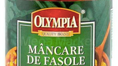 Cooked beans / Haricots cuits MANCARE DE FASOLE BOABE (Olympia) - 314ml