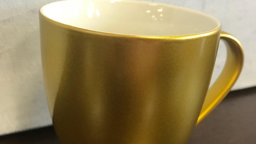 Large Golden Mug