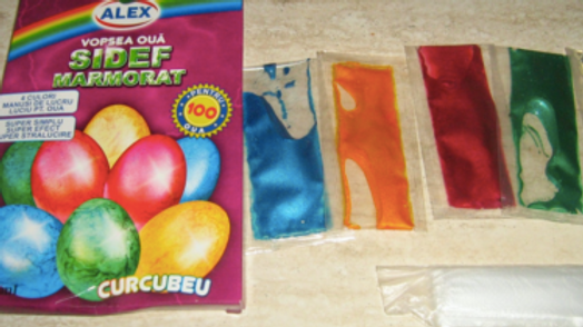 Egg Dye Kit - Vopsea oua sidefate