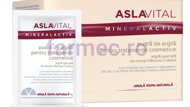 Aslavital Clay Powder for Masks