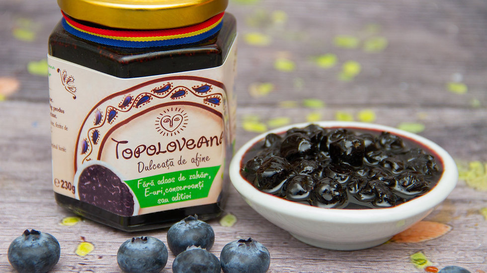 Topoloveana Gourmet Blueberry Fruit Spread small