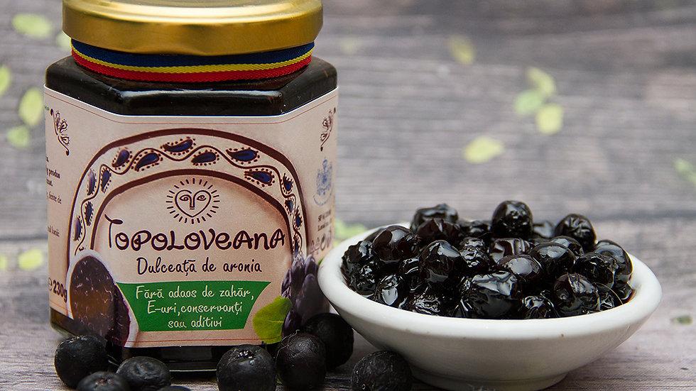 Topoloveana Gourmet Aronia Berry Whole Fruit Spread