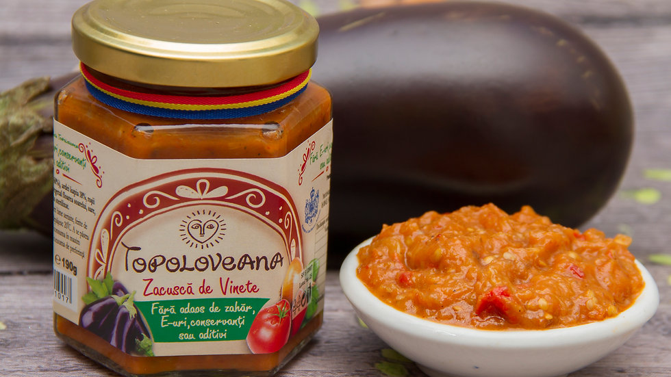 Topoloveana Gourmet Vegetable Spread Zacusca Vinete AnydBela Hamilton store small