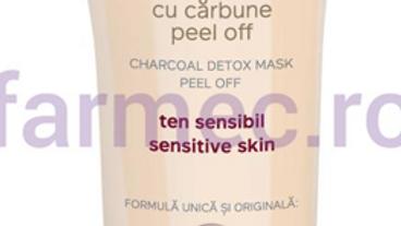 Charcoal detox mask peel off