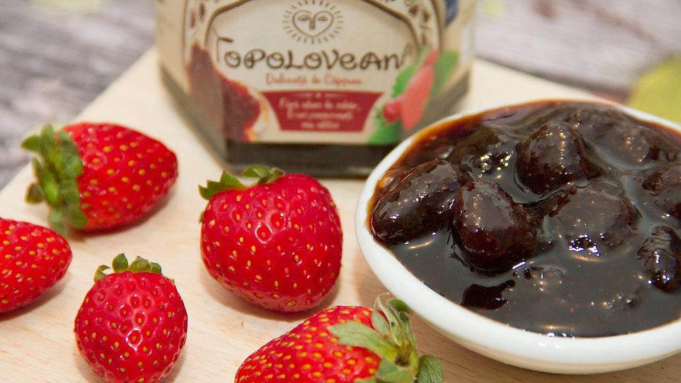 Topoloveana Gourmet Strawberry Whole Fruit Spread