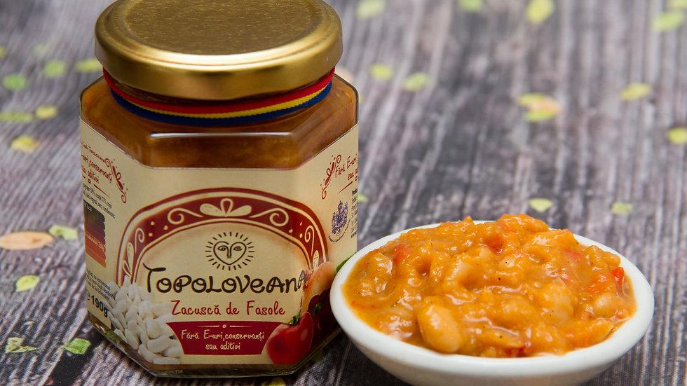 Topoloveana Gourmet White Beans Stew - Zacusca Fasole