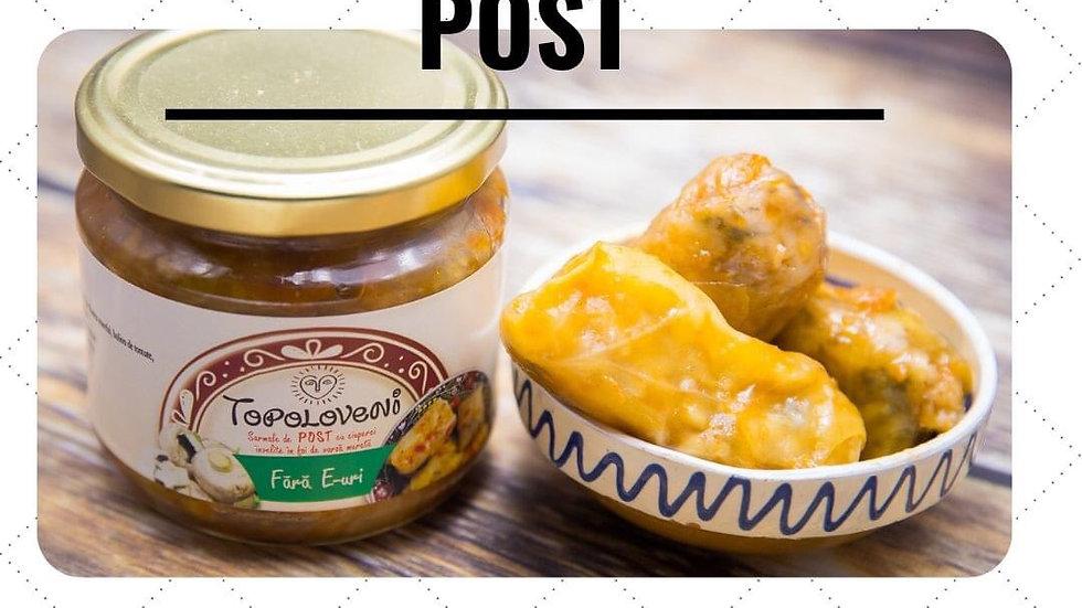 Vegan Cabbage Rolls - Sarmale de Post