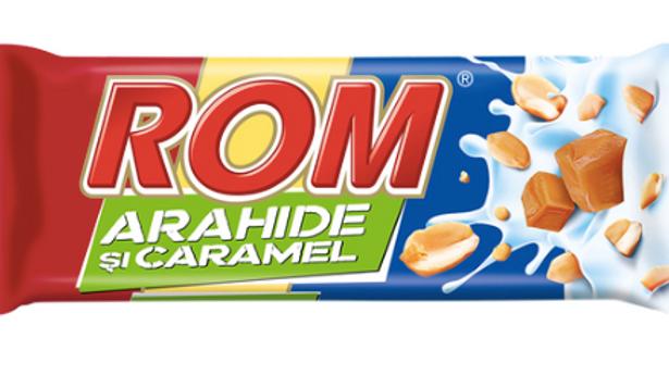 ROM cu Arahide si Caramel