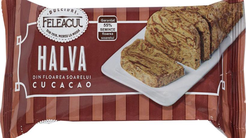 Halvah with cocoa Feleacul / Halva cu cacao Feleacul - 200G