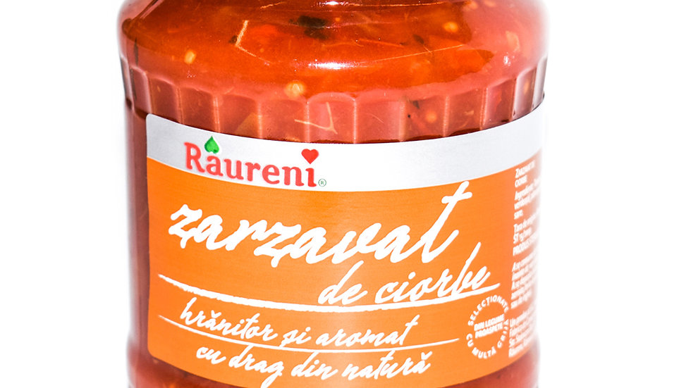 Vegetable mixture for soups Raureni ( Zarzavat de ciorba ) - 720ml