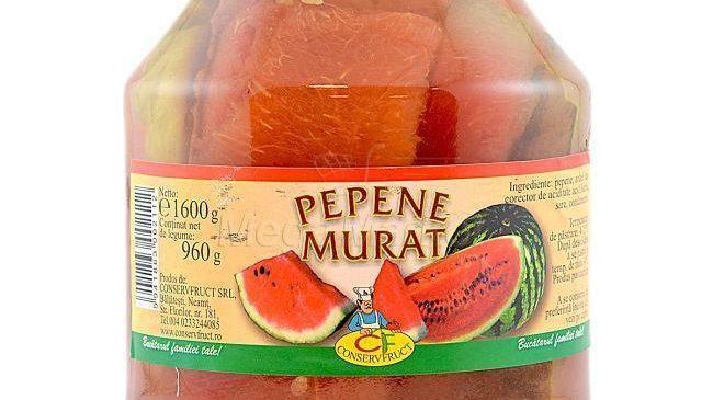 Pickled Watermelon - Pepene Murat