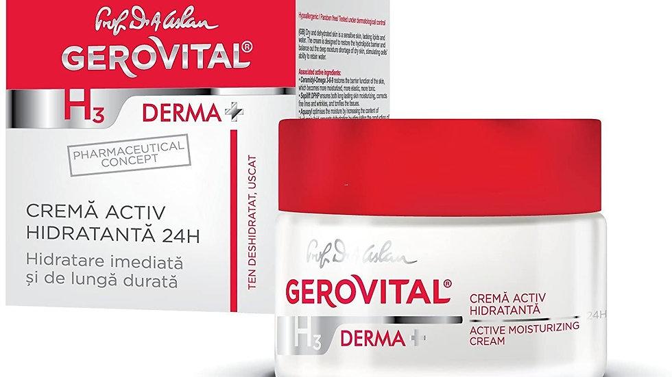 Gerovital Derma - Active Moisturizing Cream 24h