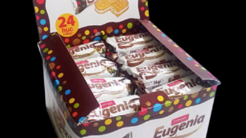 Eugenia vanilla cream biscuits - 36g NEW PRICE