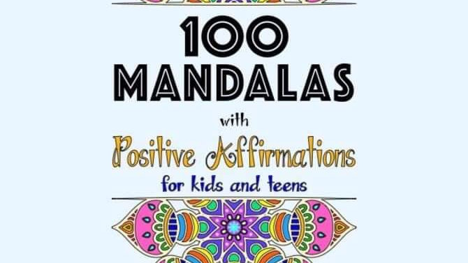 100 Mandalas with Positive Affirmations