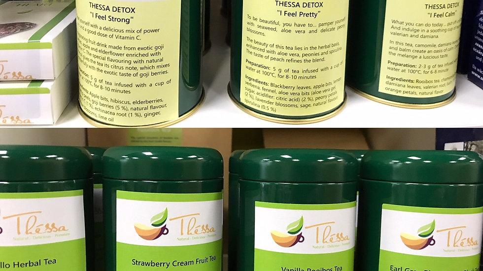 Tea in Green Tins