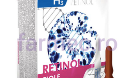 Anti-wrinkle ampoules with Retinol