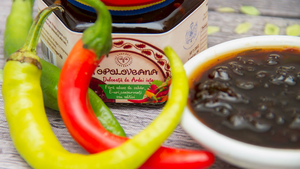 Topoloveana Gourmet Hot Pepper Spread