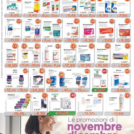 Le nostre offerte di Novembre e Dicembre.