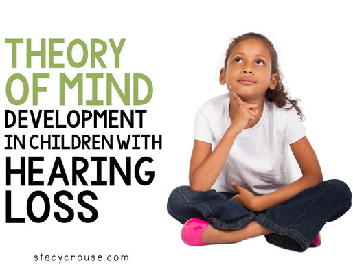Theory of Mind Development in Children with Hearing Loss