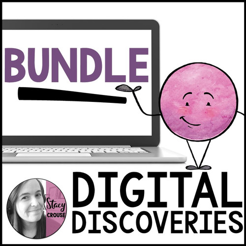 GROWING BUNDLE Digital Discovery Teletherapy Field Trips