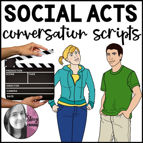 Social Acts Conversation Scripts Role Plays