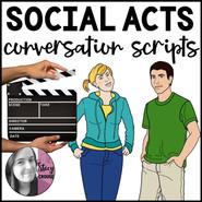 Social Acts Conversation Scripts Role Plays