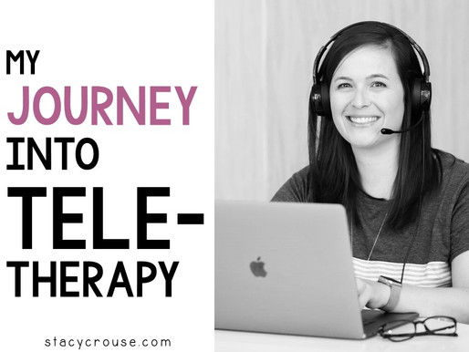 My Journey Into Teletherapy