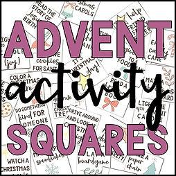 Advent Activity Squares