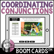 Coordinating Conjunctions BOOM CARDS™