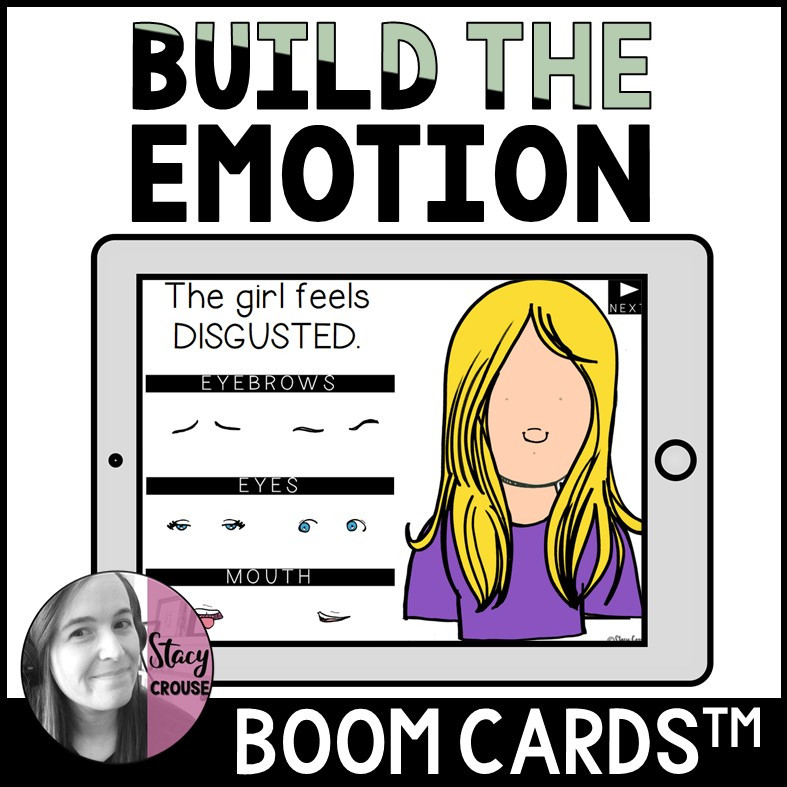 Build The Emotion BOOM CARDS™