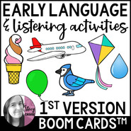 Early Language & Listening Activities BOOM CARDS™