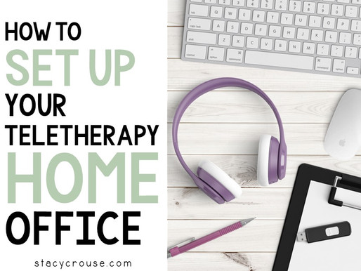 How to Set up Your Teletherapy Home Office