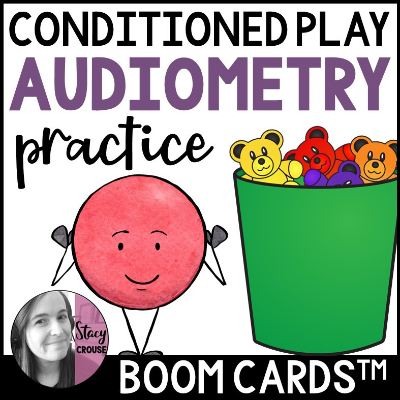 Conditioned Play Audiometry Practice BOOM CARDS™