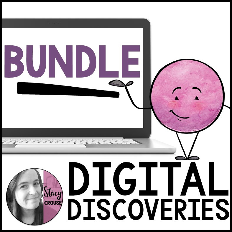 BUNDLE Digital Discovery Teletherapy Field Trips