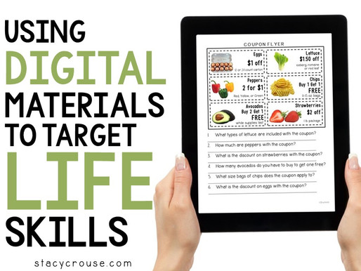 Using Digital Materials to Target Life Skills