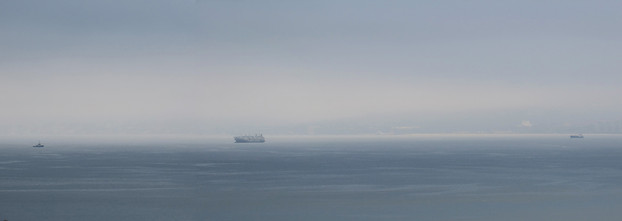 Fog over Valparaiso Bay