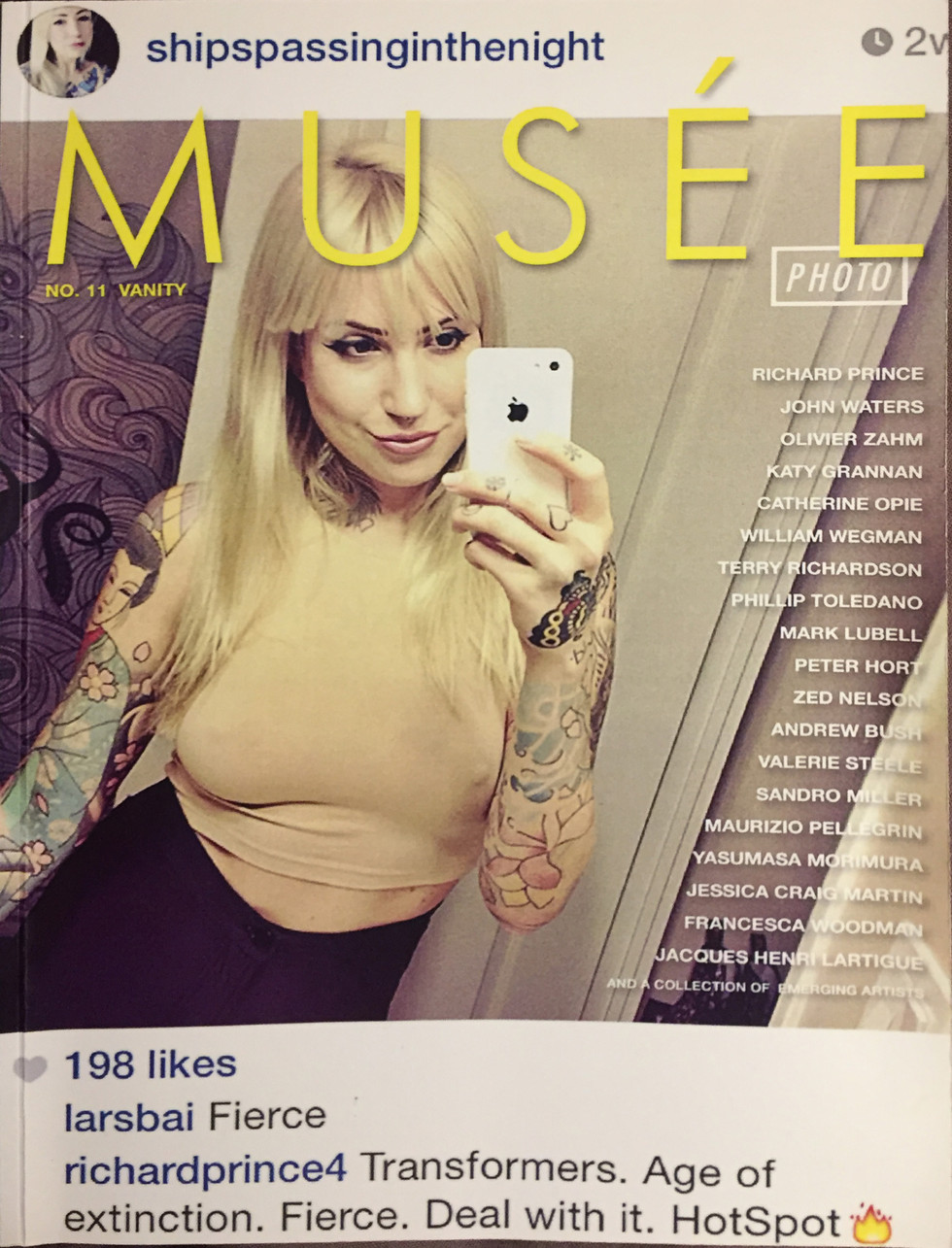 Musee Magazine #11 Cover