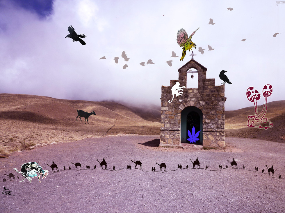 Chapel on the road to Cachi